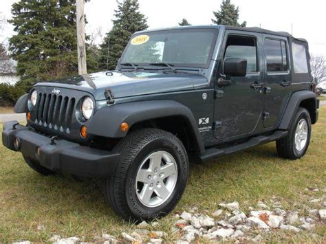 2008 jeep wrangler unlimited x mpg