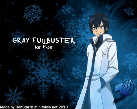 wallpaper grey fullbuster gray fullbuster images