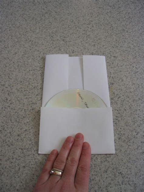 Make Paper Cd Sleeve - make amazing cd paper envelopes origami trick