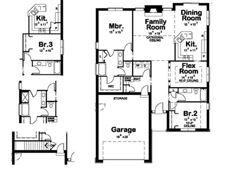 house plan 1761 square feet 57 ft ranch style house plan 2 beds 2 00 baths 1761 sq ft plan