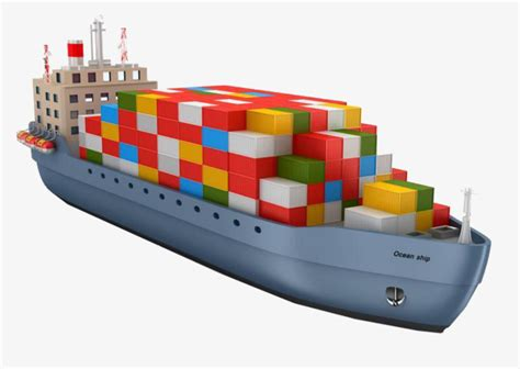 cargo boat clipart a cargo ship filled with colorful six color box ship