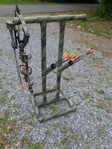 pvc bow rack sports bow rack and bows