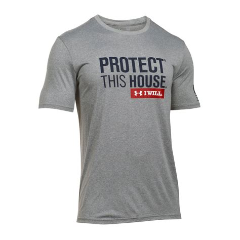 protect this house under armour protect this house tech tee