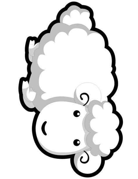 cute lamb coloring pages march comes in like a lion and out lamb download our