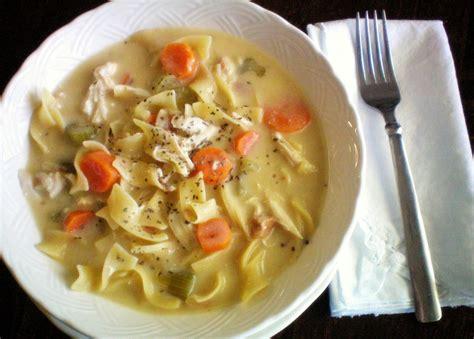 crock pot creamy chicken noodle soup