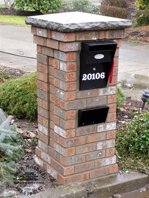 brick mailboxes mailboxes brick mailboxes baker masonry portland oregon