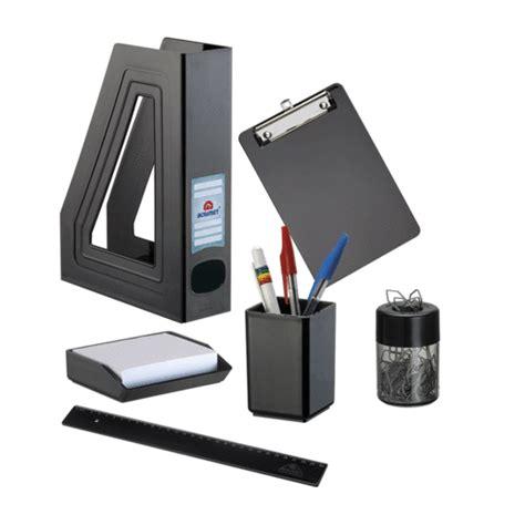 accesorios para escritorio set de escritorio negro 6 piezas accesorios para