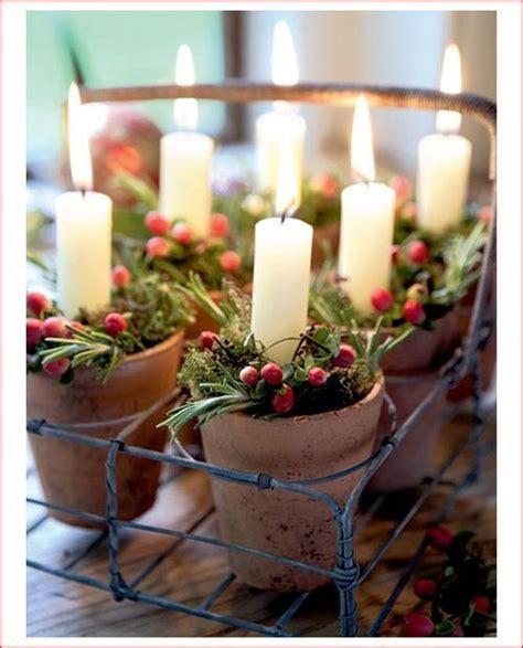 decorazioni candele natalizie decorazioni natalizie con le candele ecco 20 fantastiche