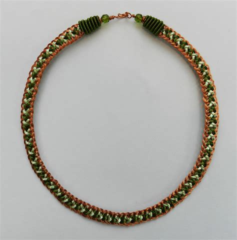 kumihimo braiding with kumihimo on beaded necklaces bead crochet and