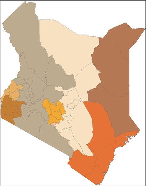 Kenya Search Kenya Shapefiles Map East Africa Kenya Shapefiles