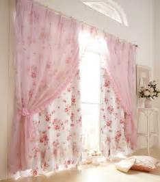 shabby chic bedroom curtains sheers in front drapes in back images 08 small room decorating