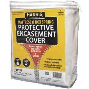mattress cover home depot harris mattress or box protective encasement cover
