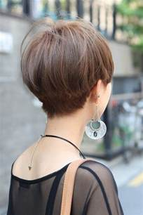 front and back views of womens hair cuts most popular asian hairstyles for short hair popular