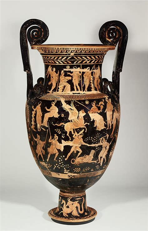 Funerary Vase Krater by Dangerous Perfection Funerary Vases From Southern Italy