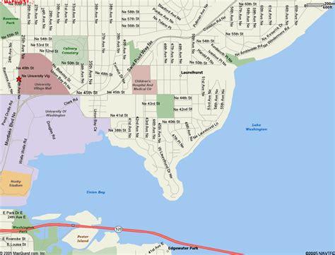 seattle map laurelhurst map of laurelhurst