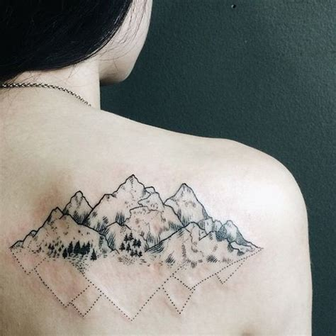 mountian tattoo simple mountain tattoos www pixshark images