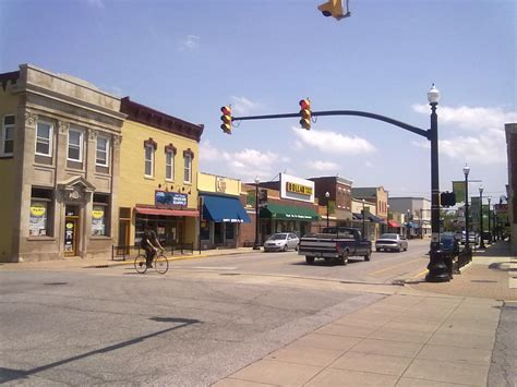Number Search Indiana File In Downtown Hobart Indiana Jpg Wikimedia Commons