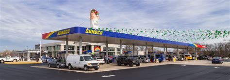 dulles airport information desk phone number new sunoco food and fuel complex opens at dulles