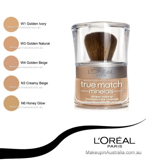 Bedak L Oreal True Match Mineral l oreal true match mineral makeup reviews mugeek vidalondon