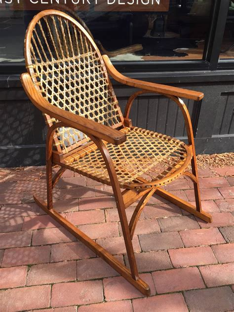Vermont Tubbs Furniture by Vermont Tubbs Adirondack Chair And Rocking Chair At 1stdibs