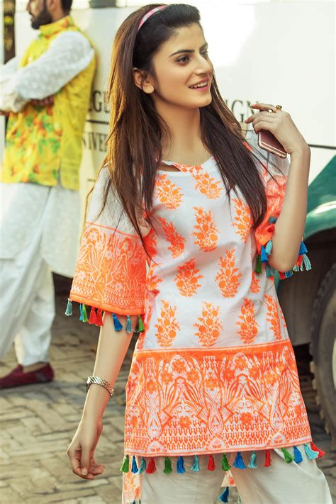 Latest Ladies Summer Shirts Gul Ahmed Yolo Collection 2018 2019