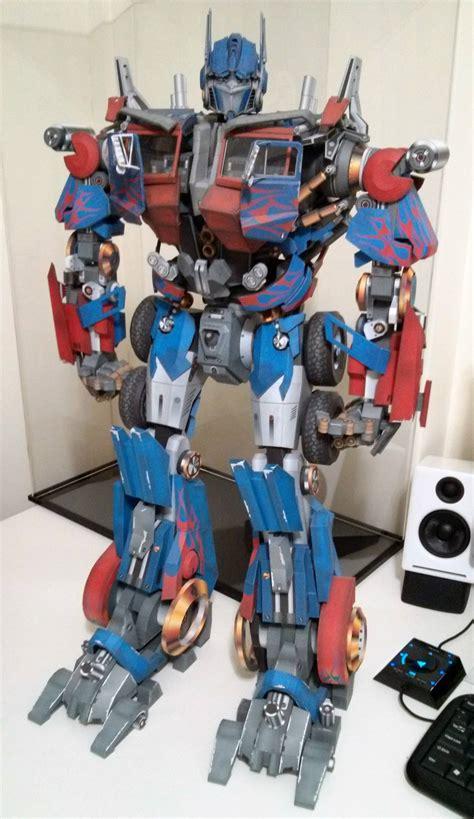 Optimus Prime Papercraft - papercraft transformers optimus prime www imgkid