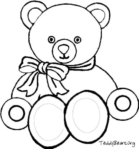 Free Coloring Pages Of Teddy Bears Free Teddy Coloring Pages