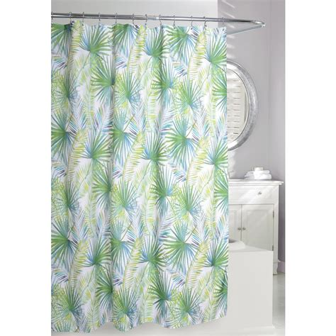 Palm Tree Curtains Fabric Shower Curtains With Palm Trees Curtain Menzilperde Net