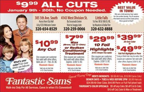 haircut coupons yuba city fantastic sams deals deals deals pinterest