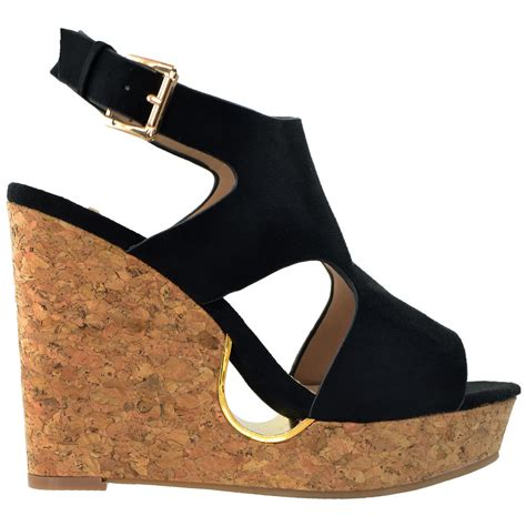 We All Like The Peep Toe But How Bout The Peep Toe Knuckle Introducing Givenchy Cutouts by Slingback Peep Toe Cutout Cork Wedge Shoes Black Bellechic