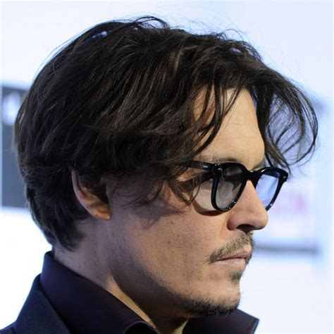 Johnny Depp Hairstyle johnny depp hairstyles s hairstyles haircuts 2017