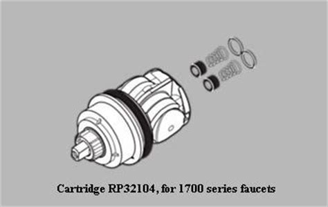 Delta 1700 Series Shower Faucet Repair by Where To Buy This Delta Shower Cartridge