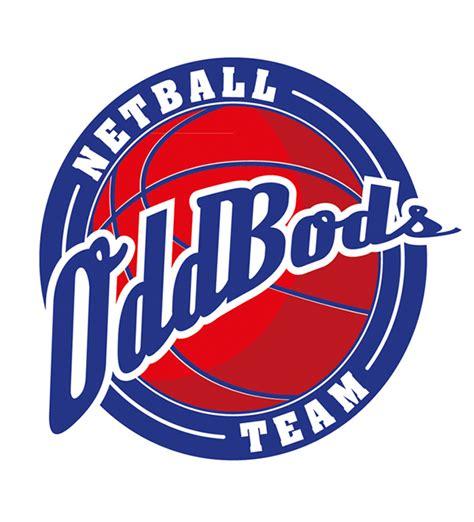 design a netball logo oddbods netball team logo design on behance