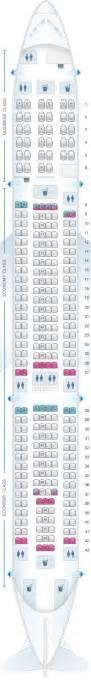 plan de cabine air mauritius airbus a340 300c seatmaestro fr
