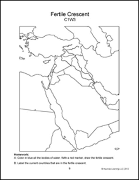 middle east map to color geography africa middle east and the holy land map