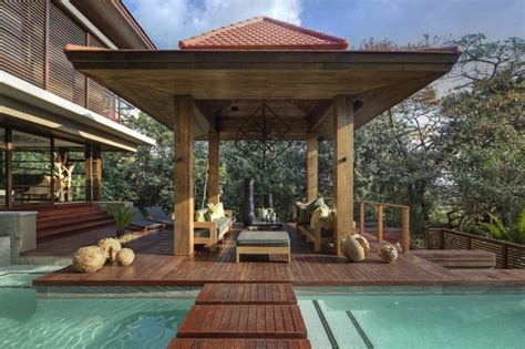 Bamboo House Design And Floor Plan by Inspiraci 243 N Zen Para Las Casas De Dise 241 O Oriental