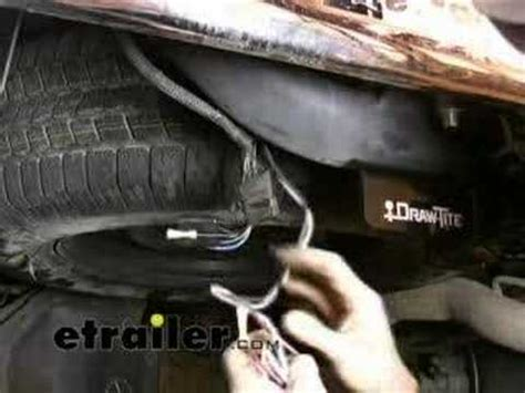 trailer wiring harness installation  dodge ram