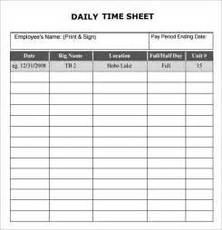 Timesheet Template by Search Results For Free Printable Daily Timesheet