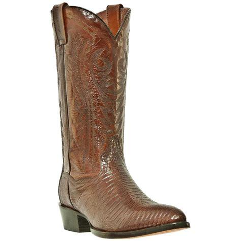 lizard boots s dan post 174 13 quot genuine teju lizard r toe boots