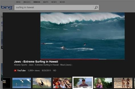 latest gadgets movie search engine at search com new bing video experience enhancements and features rolled