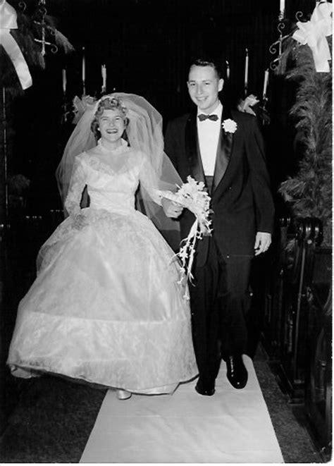 My Grandparents Wedding   1950's Wedding Photos