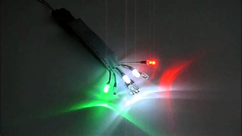 rc aeroplane plane aircraft helicopter led light system