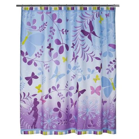 tinkerbell shower curtain disney fairies tinkerbell fabric shower curtain 72 x 72