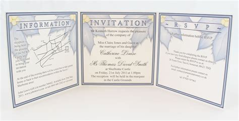 tri fold wedding invitations template images party invitations ideas