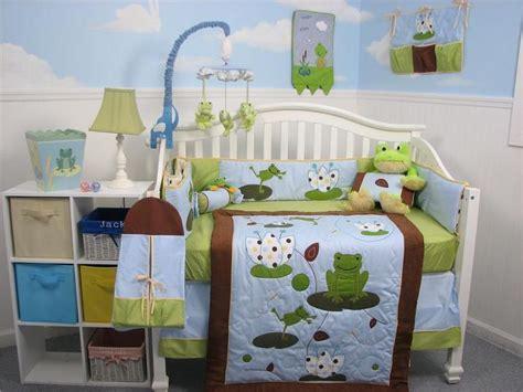 Sears Crib Bedding Soho Designs Froggies Baby Crib Nursery Bedding Set 14 Pcs Included Bag With