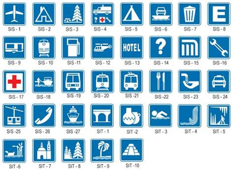 las imagenes informativas se 209 ales de transito informativas motor y dominio