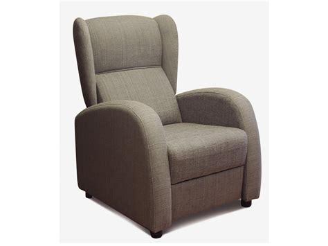 sillon descanso reclinable sill 243 n orejero abatible oferta de butaca tapizada en colores