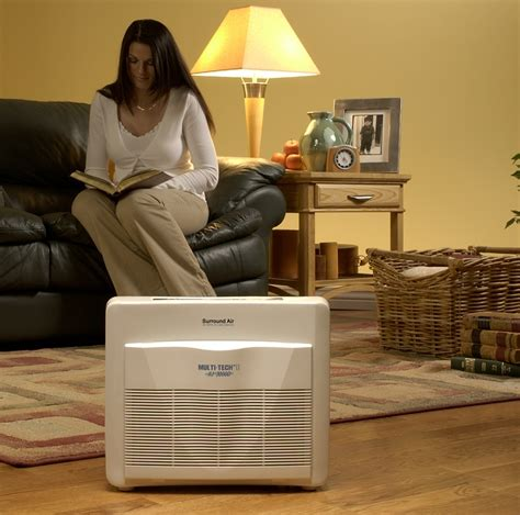 surround air multi tech ii xj 3000d air purifier with hepa carbon pre filter and