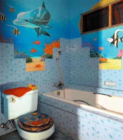 Under The Sea Bathroom Bathroom Ideas Pinterest