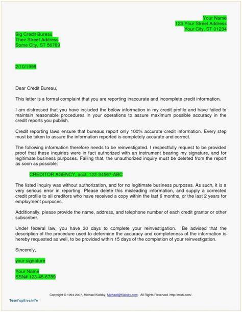 609 Dispute Letter To Credit Bureau Template Collection Letter Cover Templates 609 Dispute Letter To Credit Bureau Template